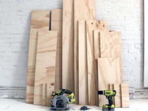 Как сделать мебель из фанеры своими руками от мастеров