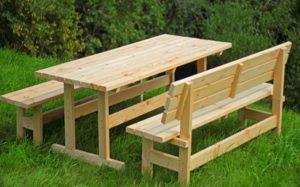 Лавочки и столы в беседку: принцип изготовления, необходимые материалы и приспособления