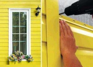 Как работать с сайдингом при облицовке домов?