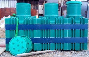 Пластиковый септик для частного дома